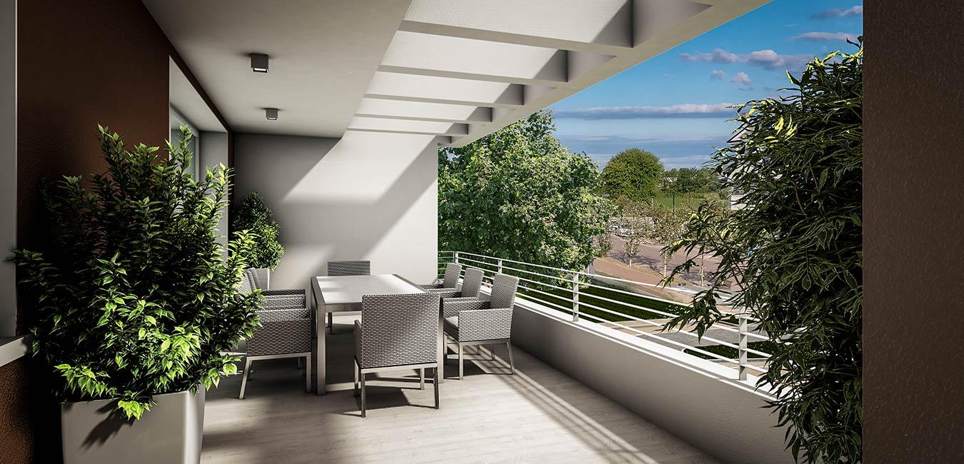 Residenze dei Colli Vista Terrazza Immobiliare Montecristo