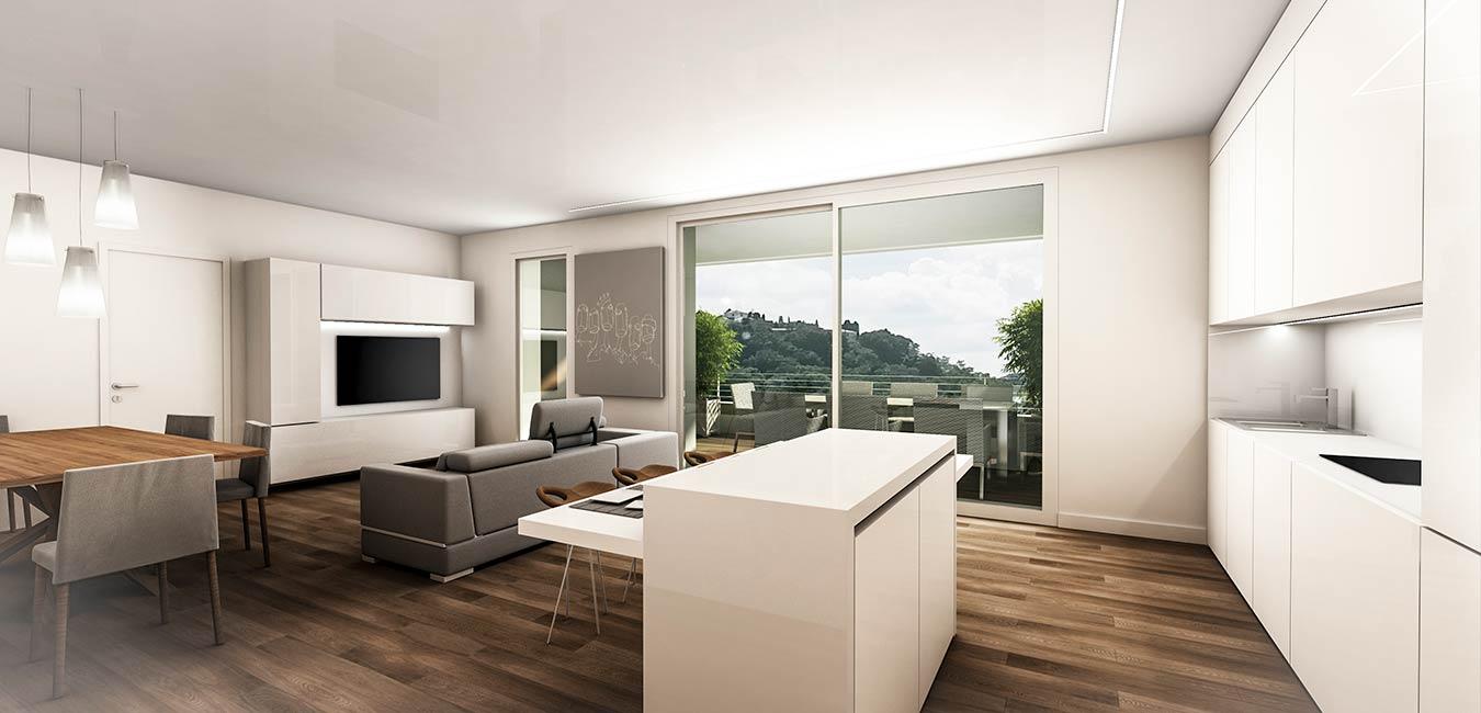 Residenze dei Colli Interno Appartamento Immobiliare Montecristo