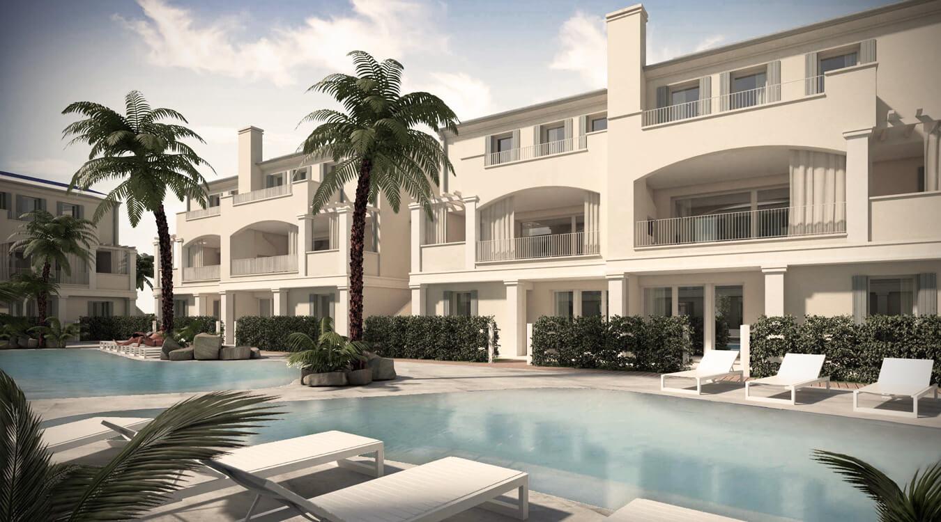 Appartamenti in vendita a Jesolo con piscina [dettaglio esterni 6]