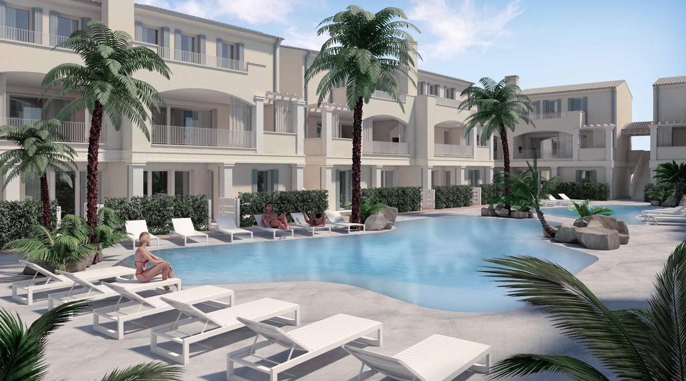Appartamenti in vendita a Jesolo con piscina [dettaglio esterni 5]